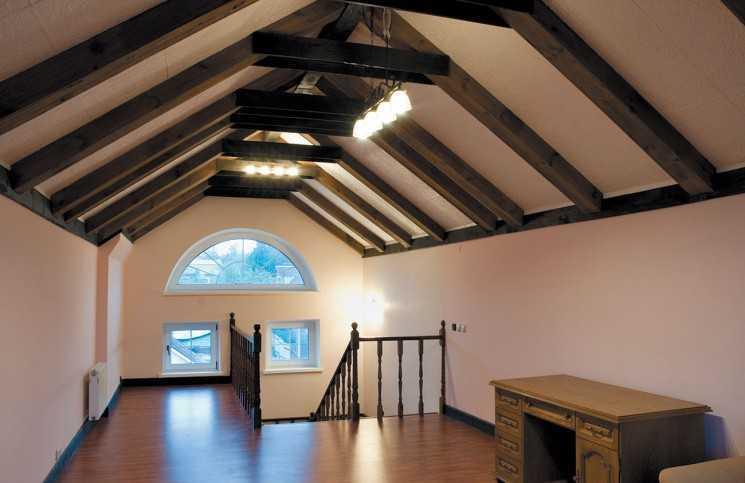 Создание крыши-мансарды