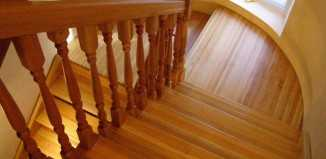 Строительство деревянных лестниц своими руками