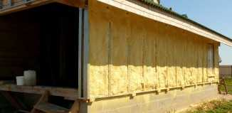 Утепление дома из шлакоблока