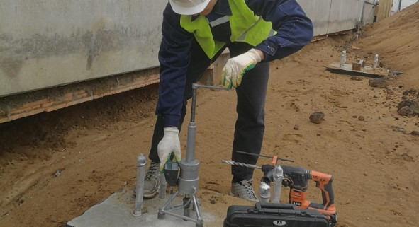 Испытание бетона в Москве